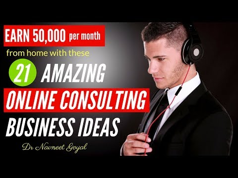 21 Best Consulting Business Ideas to Make Money Online