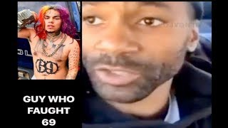 LA Goon Who Fought 6ix9ine SPEAKS ON Why They Tried To Jump Him!