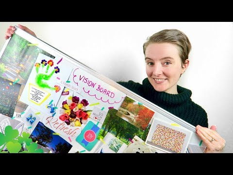 How To Make A Vision Board | How I Did It & What I Learned From It