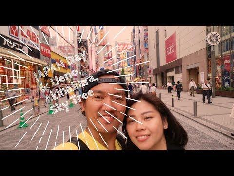 Marille Life: #71 Japan Day 6, Ueno Park, Akihabara, Tokyo Sky Tree