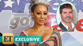 EXCLUSIVE: Mel B on Why She Threw Water at Simon Cowell During Emotional