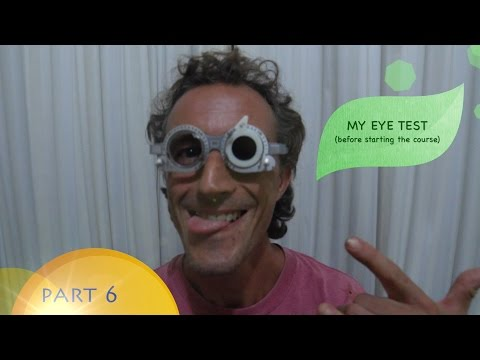 Natural Vision Correction #6 (the 1st eye test)