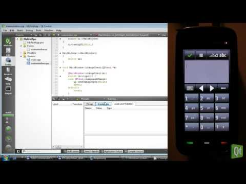 Qt for Symbian - Developing in Qt Creator