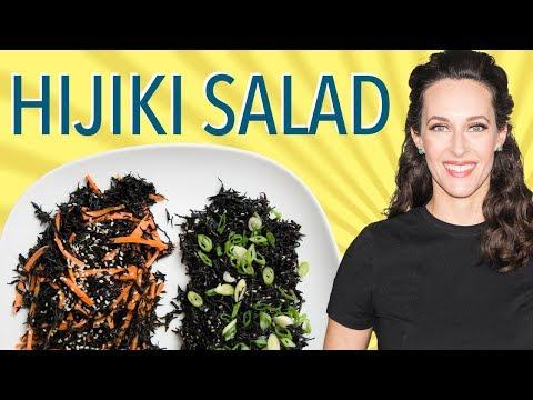 Hijiki Two Ways - How to Cook Hiziki Seaweed - How to Make Seaweed Salad
