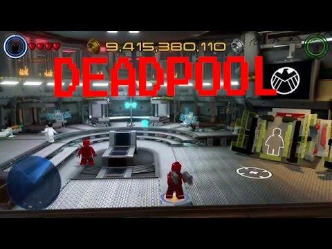 How to make Deadpool in Lego Marvel Avengers