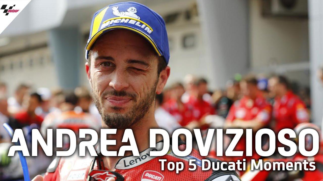 Andrea Dovizioso's Top 5 Moments with Ducati!