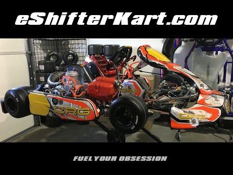 eShifter Kart Project Monster CRG 2016 Zuera B - IAME 175cc Super Shifter X30 Engine