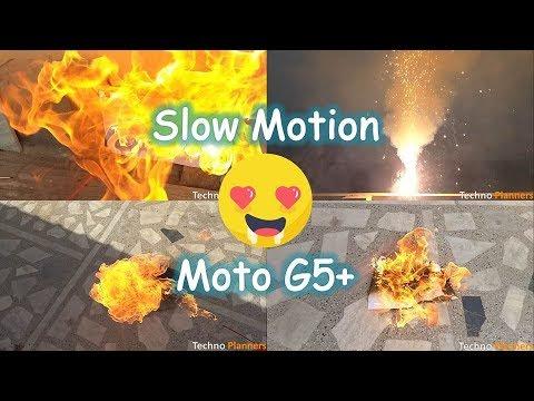 Moto G5 Plus Slow Motion Camera