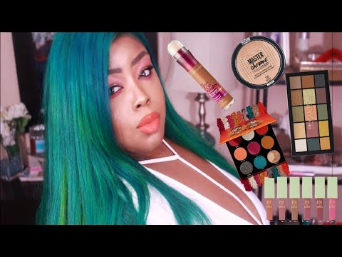 DRUGSTORE MAKEUP HAUL WHAT'S NEW 2018 MzBrooklyn