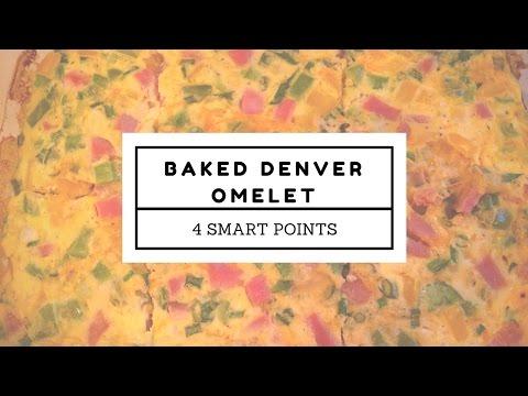 Weight Watchers Recipe | Baked Denver Omelet | 4 SP