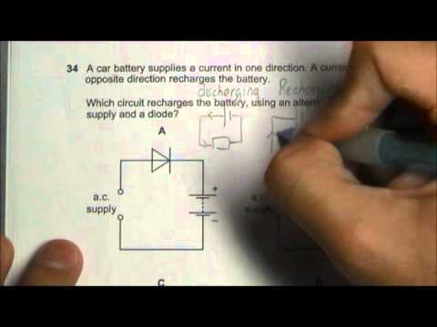 2013 O' Level Physics 5058 Paper 1 Solution Qn 31 to 35
