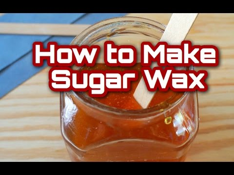 DIY | How to make sugar wax | Sugaring Eng