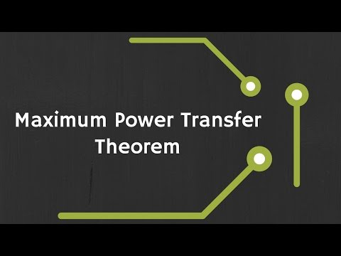 Maximum Power Transfer Theorem for DC Circuits (with Examples)