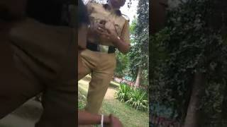 Moral policing by two Kerala police caught in Facebook live video goes viral