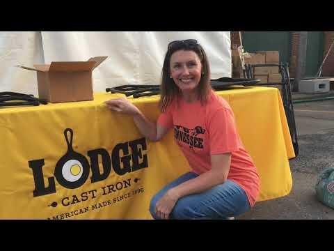 Eve of Lodge's National Cornbread Festival~