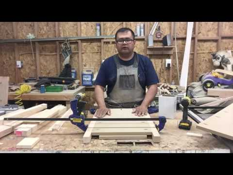 How to build a nightstand with 4 drawers