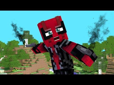Minecraft Parody - DEADPOOL VS WOLVERINE (Funny Minecraft Animation) BEST MINECRAFT ANIMATION EVER!!