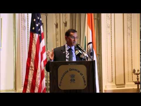 Consulate Of India New York Roshni Media India Group Event