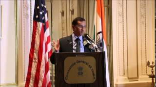 Consulate Of India New York Roshni Media India Group Event