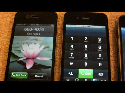 Iphone 4 failed to make outgoing calls