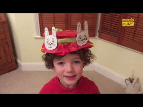 How to make an Easter hat in 5 minutes | Easter crafts