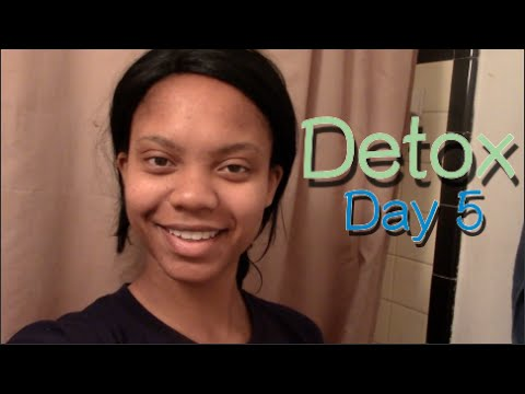 My 7-Day Detox: Day 5 - Getting Into the Swing of Things!