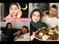 روتينا في رمضان قبل وبعد الافطار || سيامند و شهد