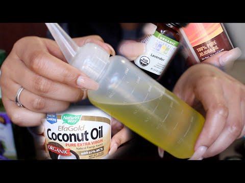 Growing Long Healthy Hair   My Hair Oil Mixture
