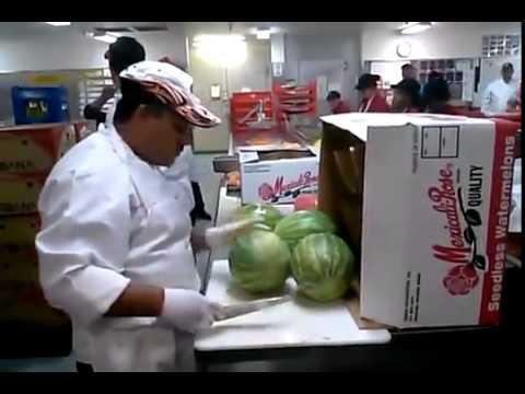 Watermelon Cut Up In 20 Seconds (Epic)