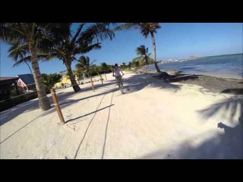 Fly Fishing in Belize; San Pedro Island by Drone