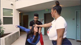 SHORT GIRLS VS. TALL GIRLS!   FT. @Persephanii Official @Bigg Jah & Stephano
