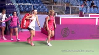A budapesti WTA torna keddi összefoglalója