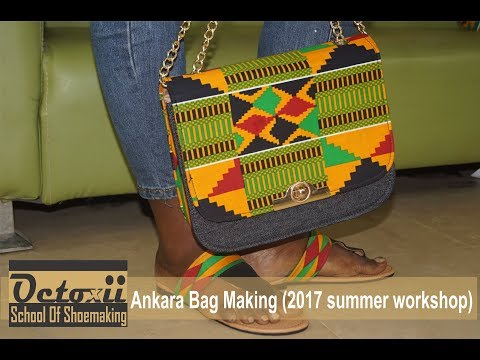 Bag making 2017 summer workshop