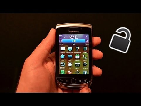 How To Unlock a Blackberry Torch 9810 - Learn How To Unlock a Blackberry Torch 9810 Here !