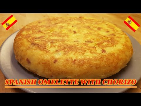 Spanish Omelette with Chorizo