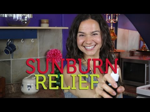 How to Get Sunburn Relief Naturally | DIY After Sun Spray