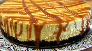 White Chocolate Pumpkin Cheesecake Recipe Cookingwithalia Episode 214