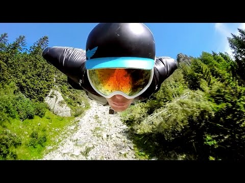 GoPro: 2500m Chamonix Wingsuit Flight