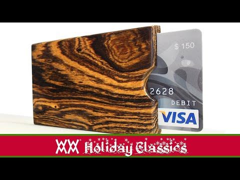 The Coolest Way to Give Gift Cards! The Woodworking Way.