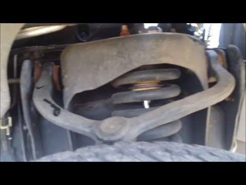 2002 Ford Expedition Suv upper control arm and uppper ball joint removal and replacement