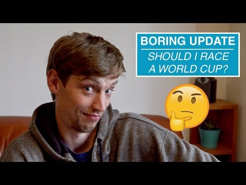 Boring Update: Should I race another DH world cup?