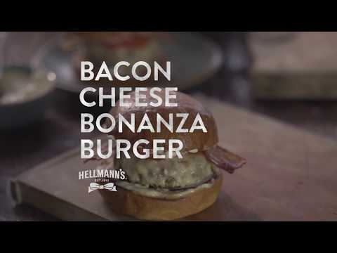 Hellmann's Bacon Cheese Bonanaza Burger