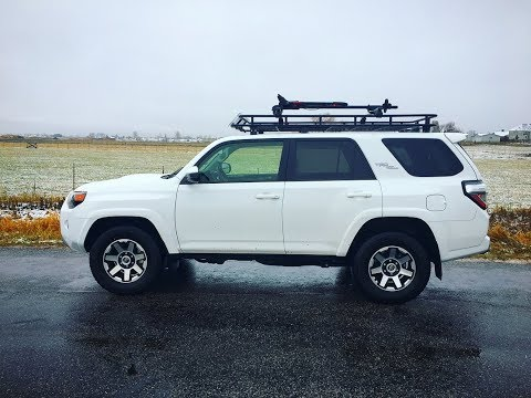 Welded Toyota 4Runner Roof Rack, DIY
