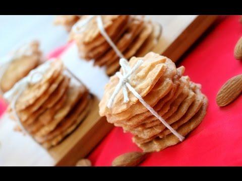 How To Make Crispy Almond Cookies Recipe | 杏仁瓦片食譜