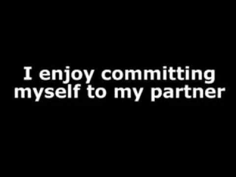 Overcome fear of commitment - affirmation video