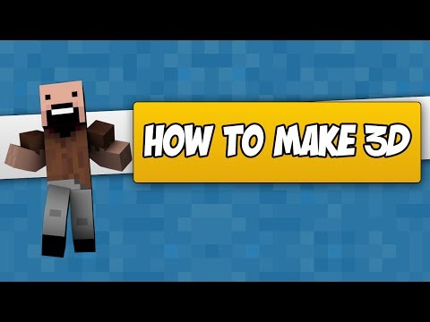 How to make your Minecraft Character in 3D! (In Cinema 4D)