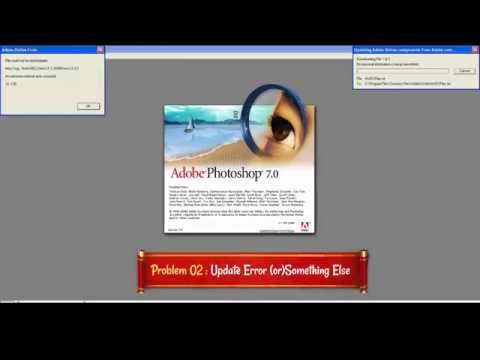 Photoshop 7 Crash Fix on Startup