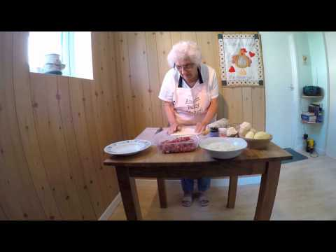 Ansom Edna - How to make a Proper Cornish Pasty
