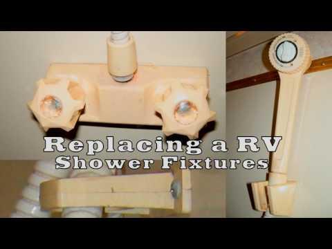 Replacing your RV shower fixtures