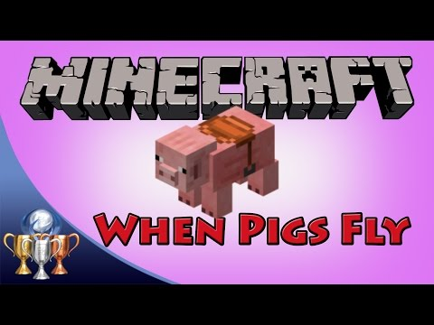 Minecraft [PS4] When Pigs Fly Trophy / Achievement (Saddle Location for PS4 & Xbox One in Tutorial)